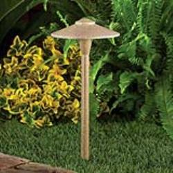 Cast Aluminum T3 Led 7½ Hat Path Light Fixture