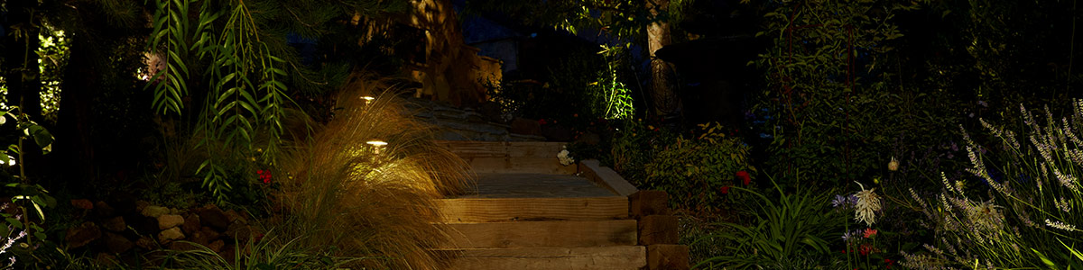 Landscape Path Spread Lights